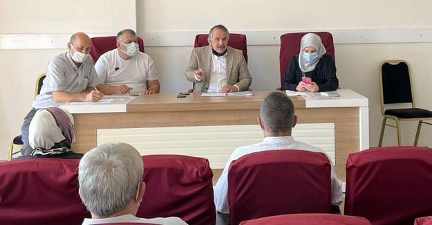 Arifiye'de Ağustos ayı meclis toplantısı yapıldı