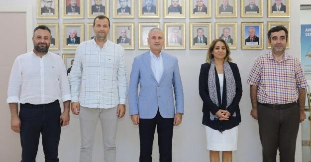 Başkan Altuğ'dan Sakarya Baro Başkanına ziyaret