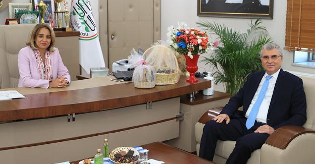 Başkan Yüce'den Baro'ya ziyaret