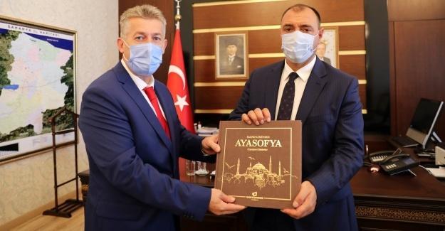 BİK Müdürü Çorbacı'dan, Vali Kaldırım'a ziyaret