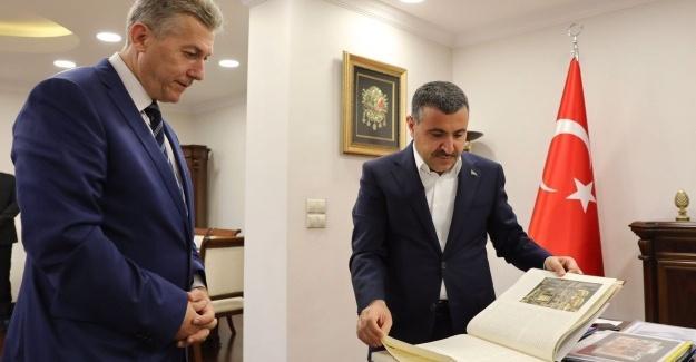 BİK Şube Müdürü Çorbacı'dan Düzce'de ziyaretler