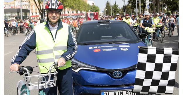 Bisiklette marka yapacak proje hız kazandı