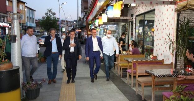 Genel Başkan Yardımcısı Zenbilci Serdivan Teşkilatıyla buluştu
