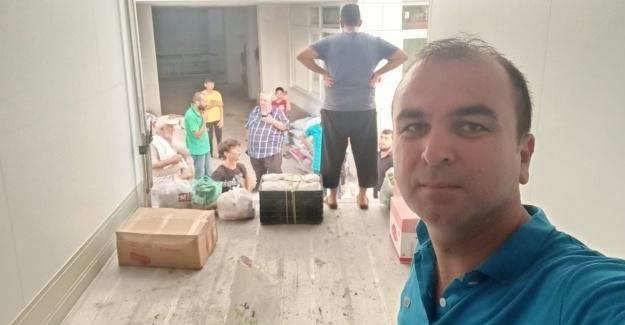 Karapınar ve Tepetarla Mahalleleri'nden yardım