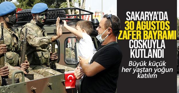 Sakarya'da 30 Ağustos Zafer Bayramı coşkusu