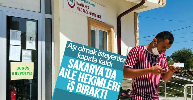 Sakarya'da bir çok aile hekimi iş bıraktı