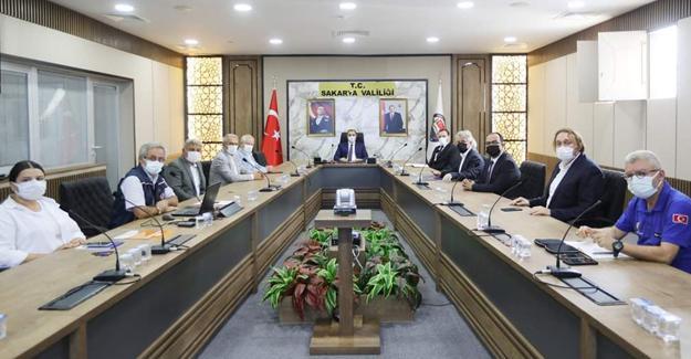 Yardımlar için istişare toplantısı yapıldı