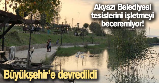 Akyazı Belediyesi tesislerini işletmeyi beceremiyor