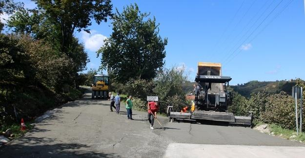 Beton yol çalışmaları Kocaali'de sürüyor