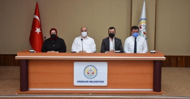 Erenler'de Eylül Meclis Toplantısı yapıldı