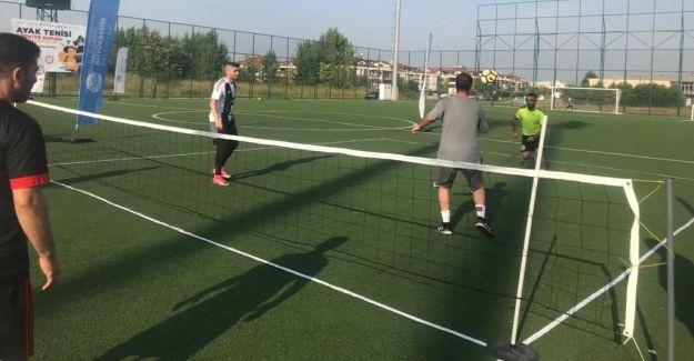 Hareketlilik Haftası etkinlikleri ayak tenisiyle devam etti