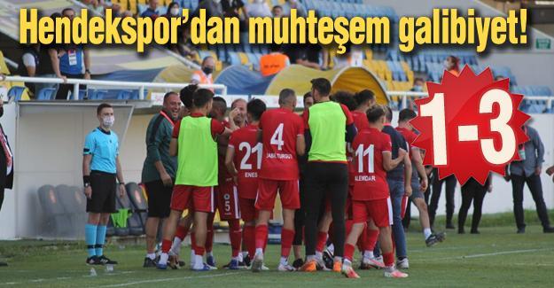 Hendekspor'dan muhteşem galibiyet! 1-3
