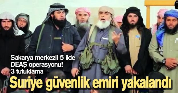 Sakarya merkezli 5 ilde DEAŞ operasyonu!