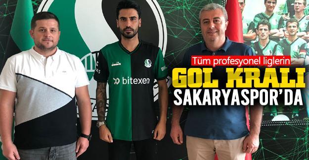 Sakaryaspor tüm profesyonel liglerin gol kralını transfer etti