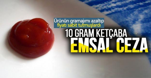 10 gram ketçaba emsal ceza