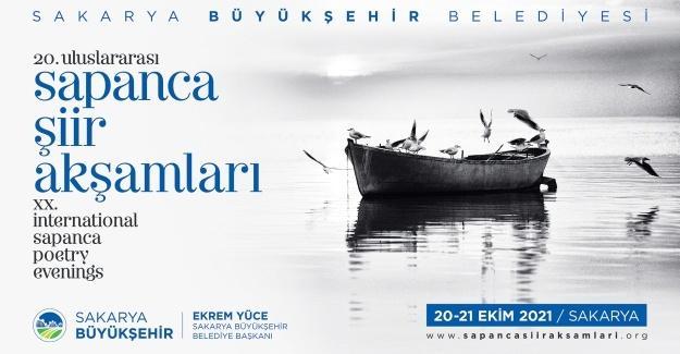 20. Uluslararası Sapanca Şiir Akşamları başlıyor