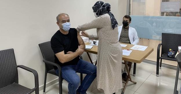 Arifiye'de aşı seferberliği sürüyor