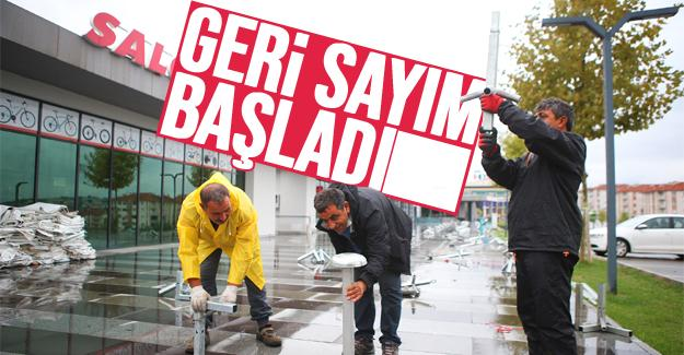 BMX rüzgarı Büyükşehir Ayçiçek Vadisi'nde esecek