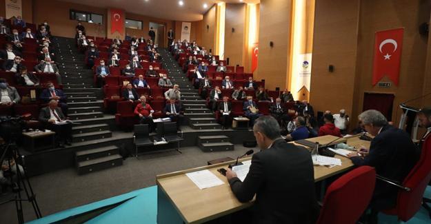 Büyükşehir Ekim Meclisi yapıldı