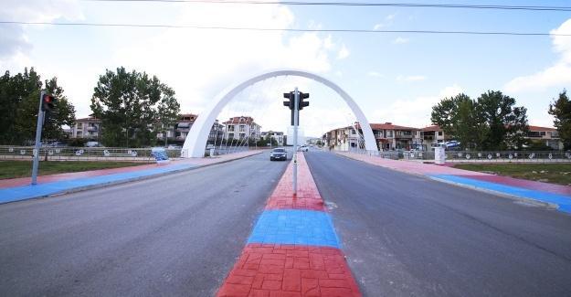 Büyükşehir'den Yazlık girişine yeni köprü