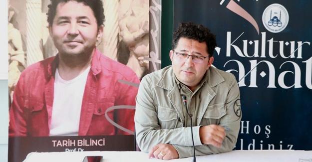 """Prof. Şahin'den """"Tarih Bilinci"""" söyleşisi"""