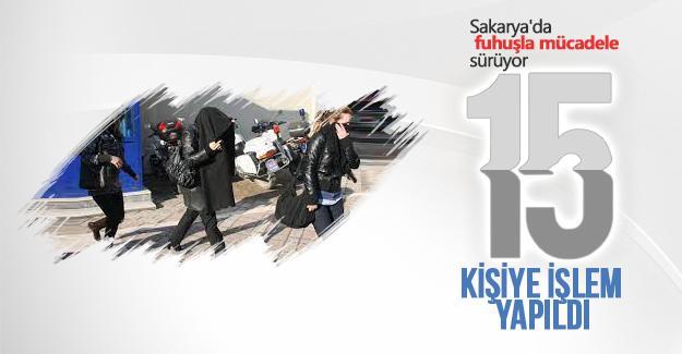 Sakarya'da fuhuşla mücadele sürüyor