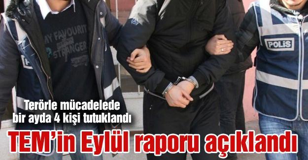Terörle mücadelede bir ayda 4 kişi tutuklandı