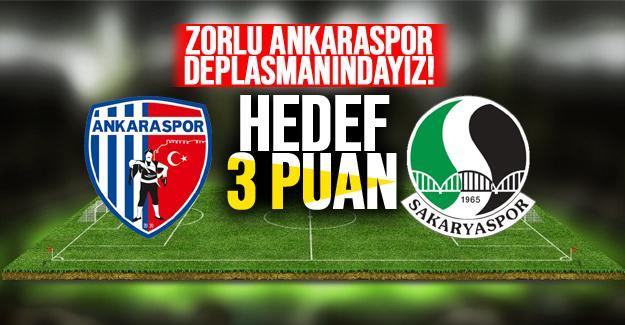 Ankara'dan 1 puanla dönüyoruz! 1-1