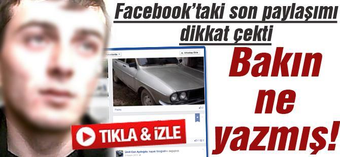 FACEBOOK'TAKİ SON PAYLAŞIMI DİKKAT ÇEKTİ