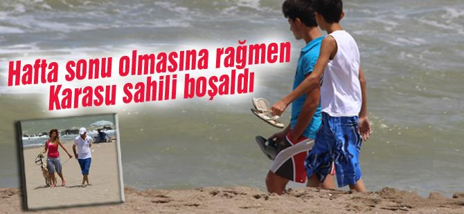 RAMAZAN GELDİ SAHİLLER BOŞALDI