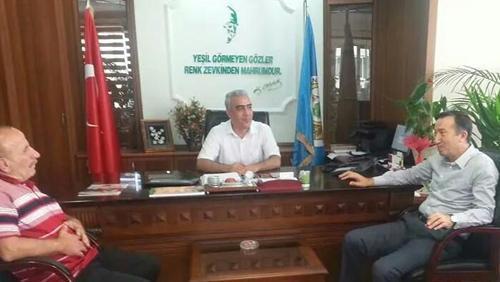 Milletvekili Çelik'ten OBM'ye ziyaret