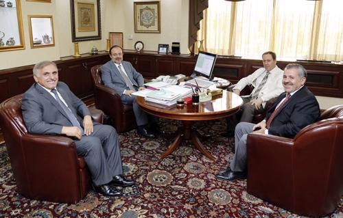 Başkan İnci Ankara'daydı