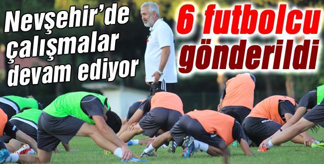 Sakaryaspor'da 6 oyuncu gönderildi!