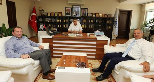 Toçoğlu ve Uncuoğlu'ndan Dişli'ye ziyaret