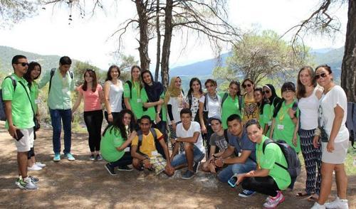Yabancı öğrencilerden kültür gezisi