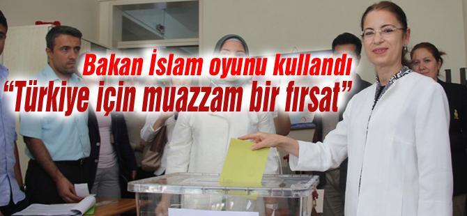 """""""Türkiye için muazzam bir fırsat"""""""