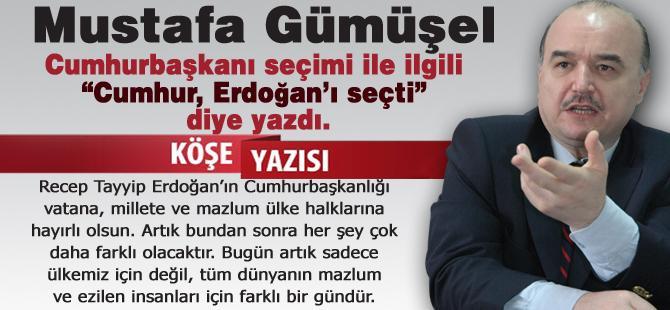 Cumhur, Erdoğan'ı seçti!…