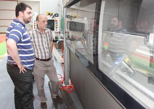 Öztürk'ten fabrikalara ziyaret