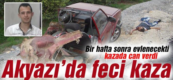 Akyazı'da feci kaza 2 ölü 5 yaralı