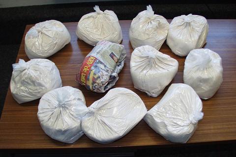 42 kilo kokain ele geçirildi