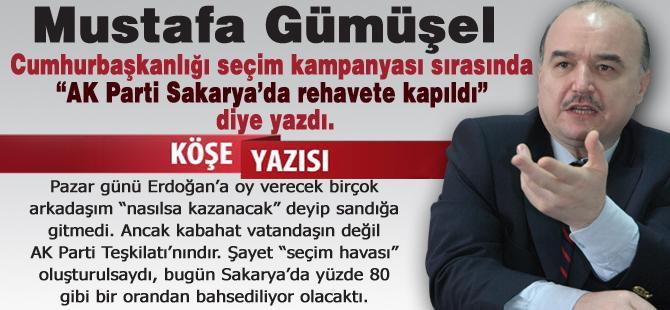 AK Parti Sakarya'da rehavete kapıldı!…