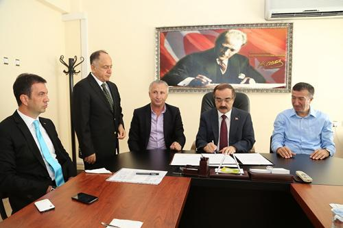 Karasu Limanı sözleşmesi imzalandı