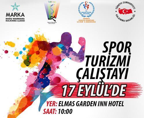 Sakarya Spor Turizmi Çalıştayı 17 Eylül'de