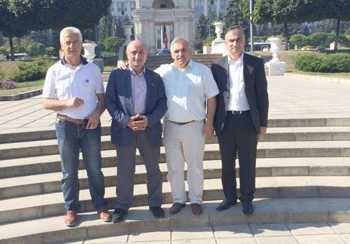 Başkanlar Gagauzya'da