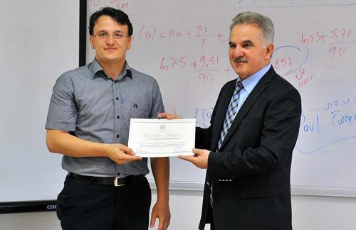 Ekonometri seminerleri sertifikaları verildi