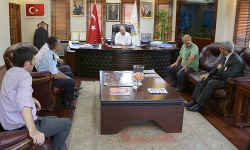Recep Akdağ Sapanca Belediyesini ziyaret etti
