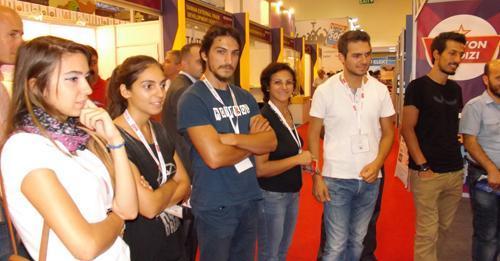 SABİDER İstanbul Cebit Eurasia 2014 Fuarındaydı