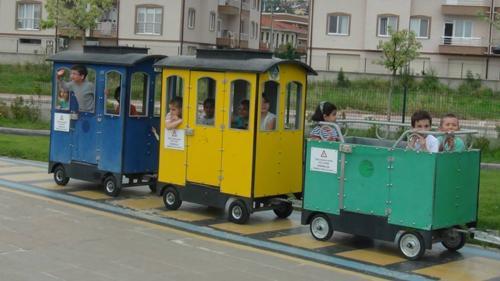 Serdivan trafik park yeni eğitim yılına hazır