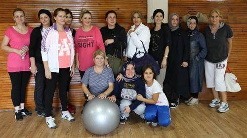 Sapanca Belediyesi pilates kursu açtı