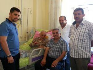 İnci ve Sofu'dan hasta ziyaretleri
